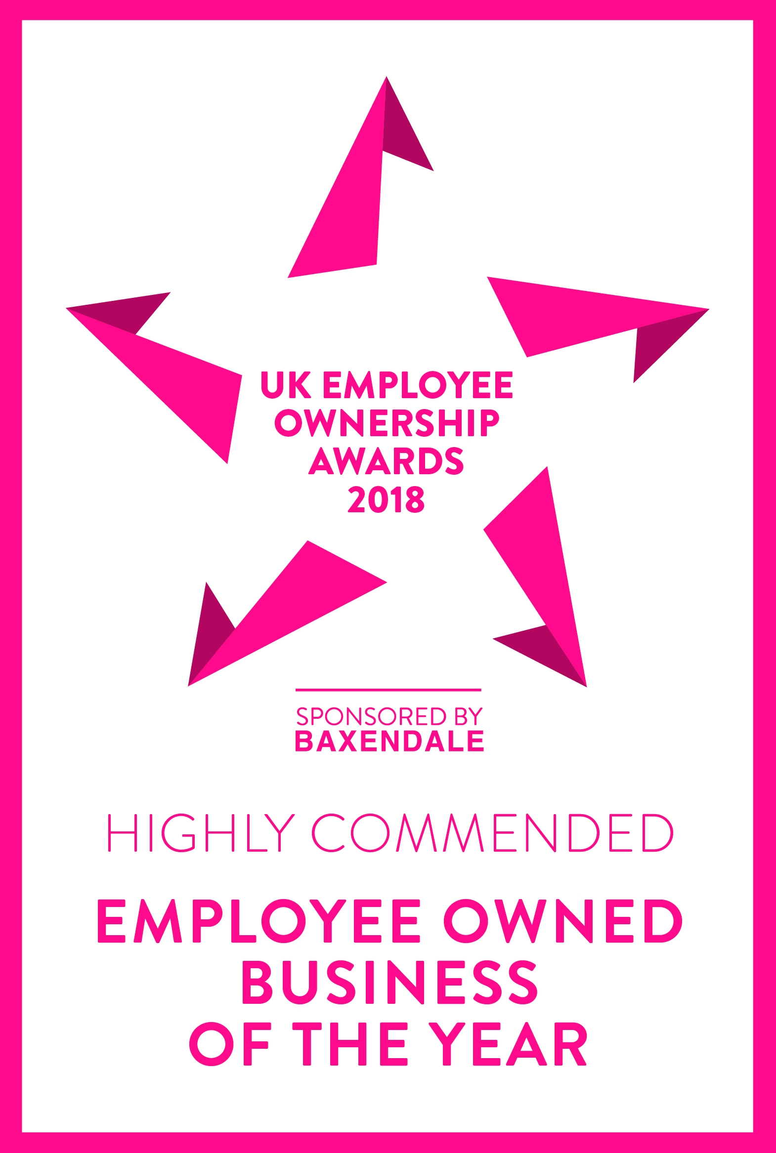 Business Of The Year Highly Commended