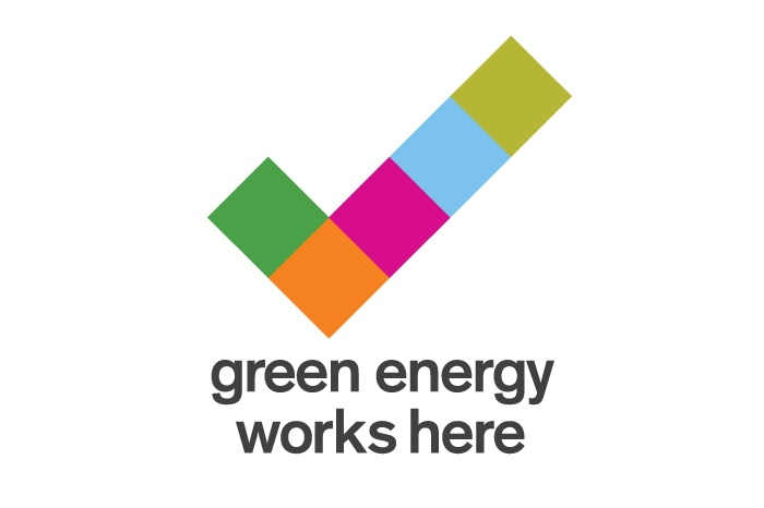Green Energy Accreditation Symbol Landscape